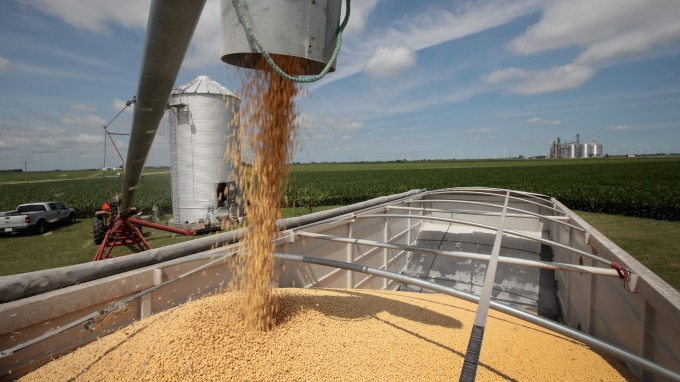 美農產巨頭:美中貿易糾紛持續 恐永久改變貿易流向(圖片:AFP/Getty Image)