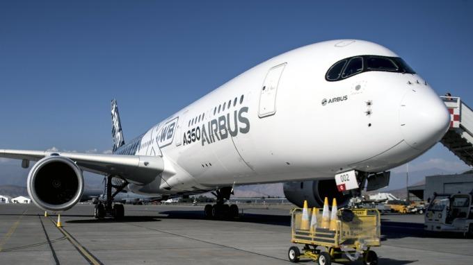 空巴再下一城、中國國際航空訂購20架A350-900客機。(圖片:AFP)
