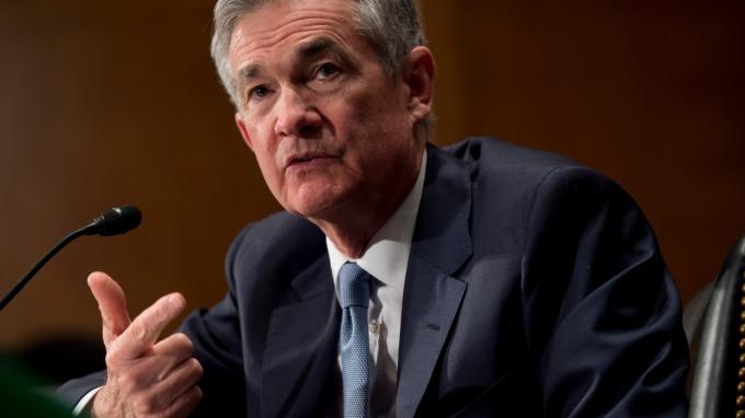 美國聯準會(Fed)主席鮑爾。(圖片:AFP)