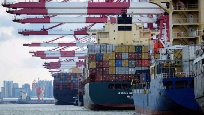貿易戰發酵!6月份中國出口轉為衰退1.3%(圖片:AFP)