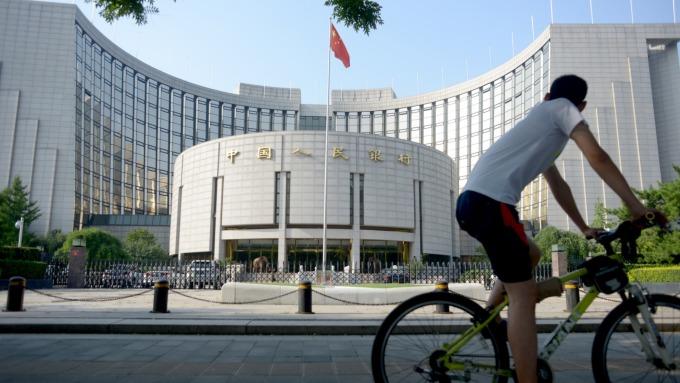 中國央行:6月社融規模增量2.26兆元(圖片:AFP)