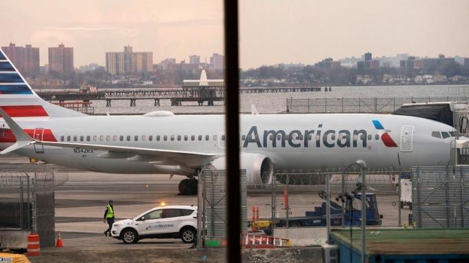 跟進同業 美國航空11月初之前取消波音所有737 Max客機航班(圖:AFP)