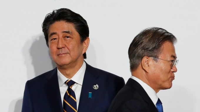 分析師:影響層面過大、日韓終將妥協。(資料照片) (圖片:AFP)
