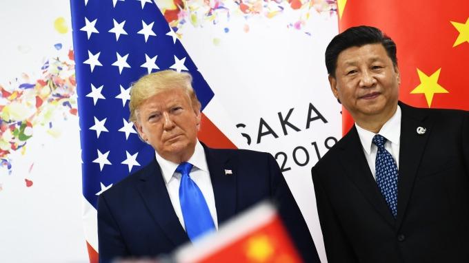 川普稱中國想與美國達成貿易協議。(圖片:AFP)