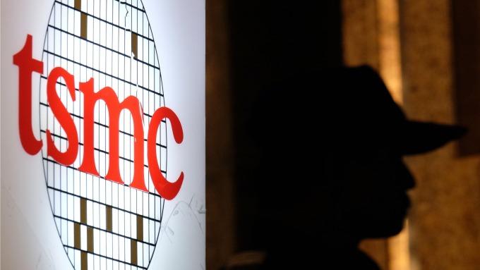 台積電3奈米寶山廠,都市計畫審議通過。(圖:AFP)