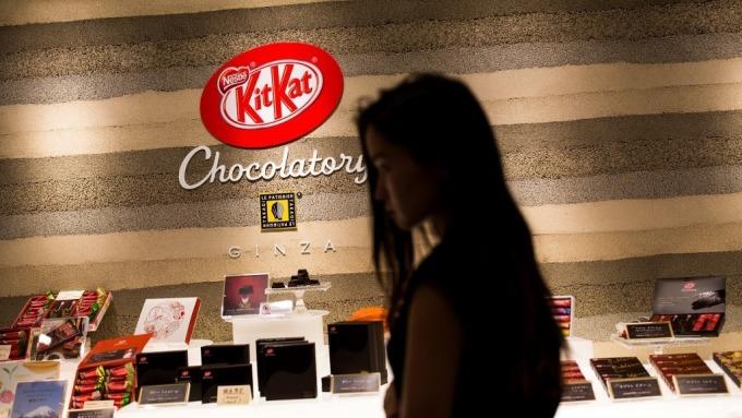 雀巢新配方巧克力 不加糖也一樣甜 (圖:AFP)