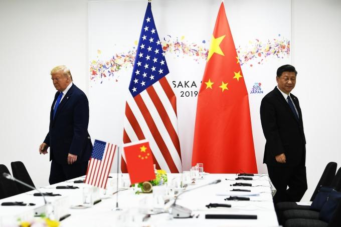 川普表示美中要達成貿易協議還有很長的路要走。(圖片:AFP)