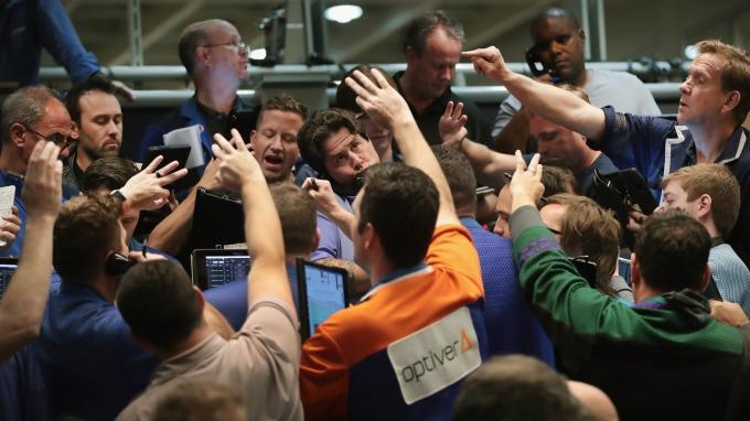小摩:價值股、防禦股創史上最大分歧  圖片:AFP