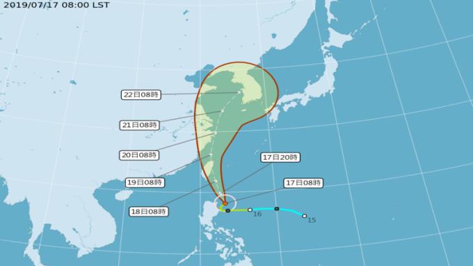 丹娜絲直撲台灣 颱風險怎麼保才會理賠?
