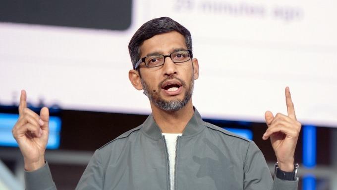 Google執行長Sundar Pichai (圖片:AFP)