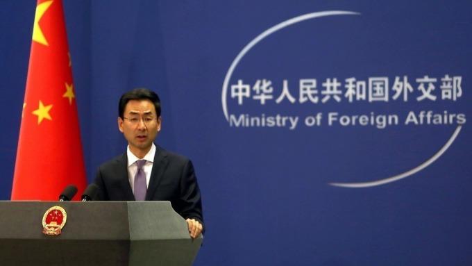 中國外交部發言人耿爽 (圖片:翻攝中國外交部)