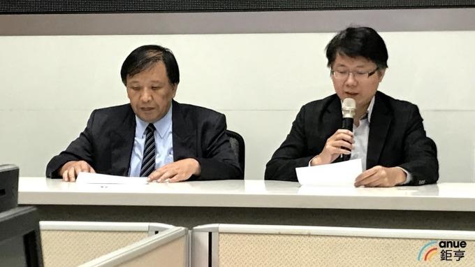 左為綠能財務長熊穉麟,右為大同財務長彭文傑。(鉅亨網資料照)