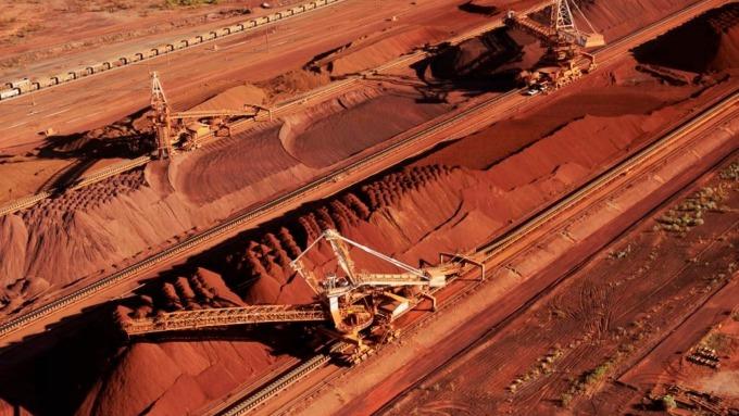 20年來首見澳洲鐵礦砂產出下滑 恐導致經濟衰退 (圖片:AFP)