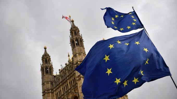 若無協議脫歐 英國2020年經濟恐面臨衰退(圖片:AFP)