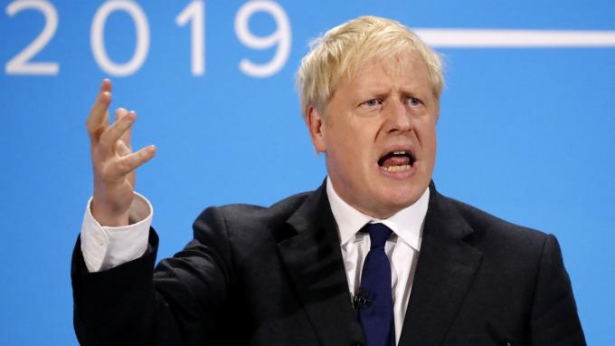 英國首相熱門候選人強生:與美國的貿易談判恐將是「艱難」的(圖片:AFP)