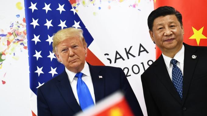 據傳美中貿易磋商已陷入停滯。(圖片:AFP)