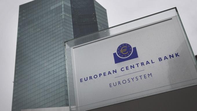 據傳歐洲央行正在研擬修訂通膨目標的可能性。(圖片:AFP)