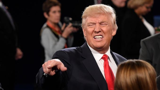 川普對強勢美元相當反感。(圖片:AFP)