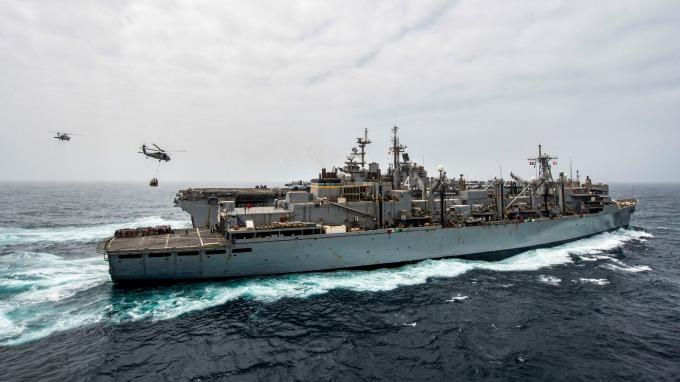 美國海軍黃蜂級兩棲攻擊艦拳擊手號(USS Boxer) (圖片:AFP)
