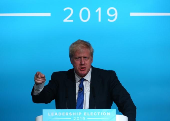 英國會:新首相必須盡早決定是否放行華為 5G 設備!(圖為 Boris Johnson) (圖片:AFP)