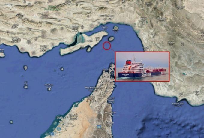伊朗週五在一小時內於霍爾木茲海峽扣留兩艘英國國際油輪 (圖片:翻攝谷歌、CNBC)
