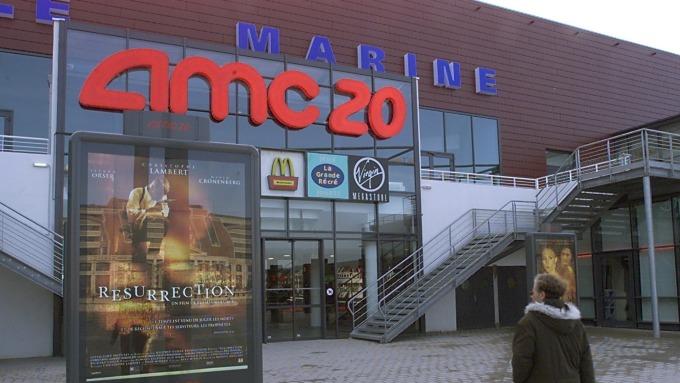 全球最大電影院AMC (圖片:AFP)