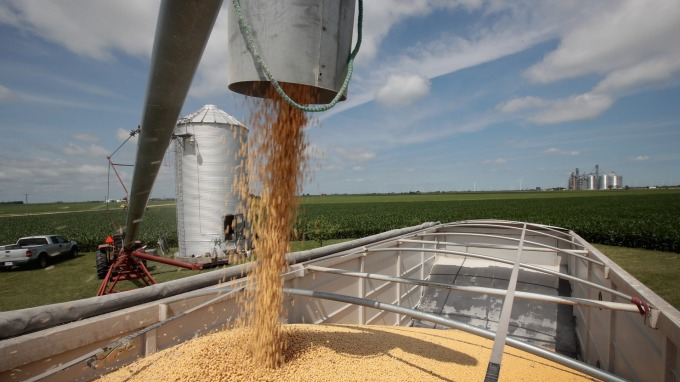 中國買家已向美國農產品詢價 並尋求關稅豁免(圖片:AFP)