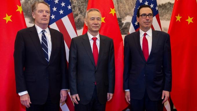 中國媒體:美中新一輪談判傳最快下週北京登場。(圖片:AFP)