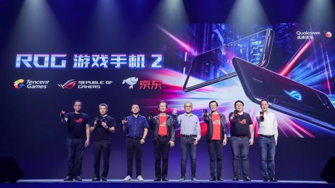 華碩第2代電競手機,北京ROG發表會正式亮相。(圖:華碩提供)