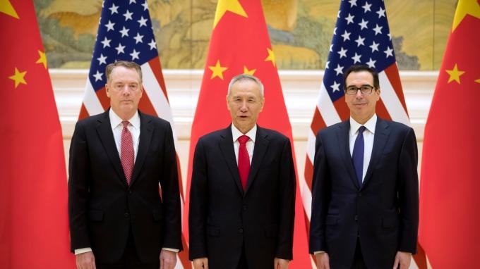 彭博:美中新一輪面對面談判傳下週「上海」登場。(圖片:AFP)