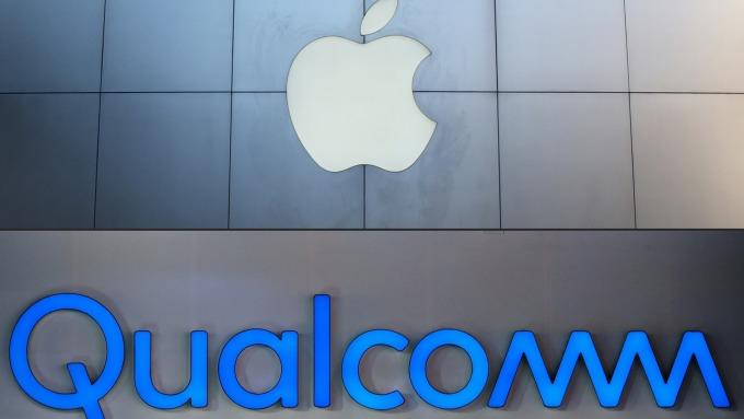 蘋果買英特爾晶片 刀下亡魂換成高通? (圖片:AFP)