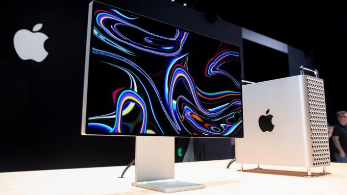 蘋果為「中國製造」Mac Pro 申請關稅豁免。(圖片:AFP)
