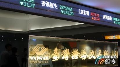 證交所公布,鴻海、中華電等44檔股票明日除息交易,指數開盤將蒸發44.2點。(鉅亨網資料照)