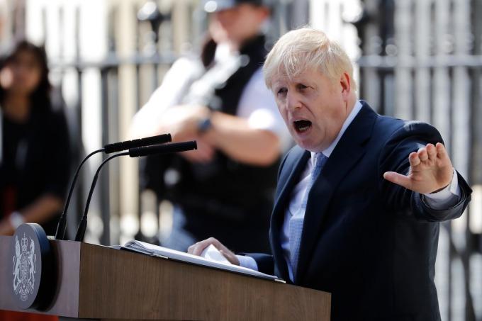 強生:警告英國可能不得不無協議脫歐。(圖片:AFP)