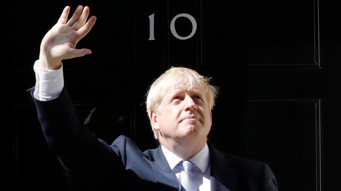 新英相強生首次演說:英國須為無協議退歐做好準備。(圖片:AFP)