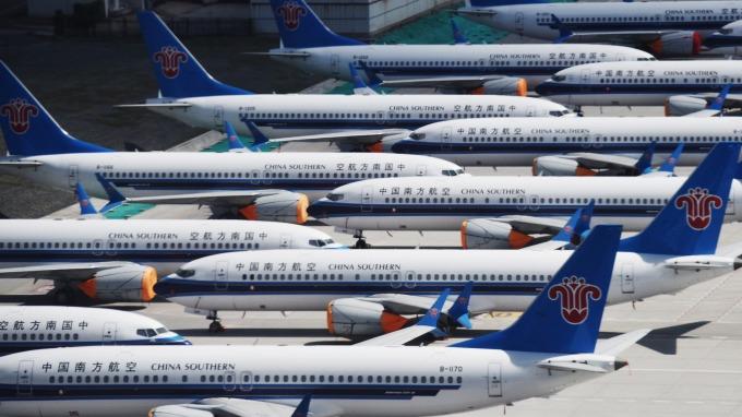 波音:737 MAX飛航禁令若延至2020、將考慮暫停生產。(圖片:AFP)