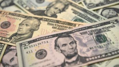 美元指數可能正處於暴風雨前的寧靜 圖片:AFP
