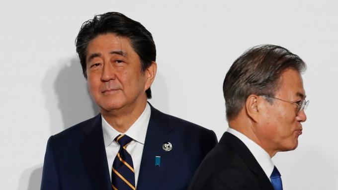 重磅!南韓最快在8月2日將遭日本從白色名單上除名。(圖片:AFP)