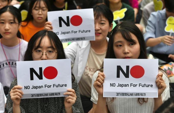 日韓貿易戰、南韓不是只有半導體業受創 (圖片:AFP)