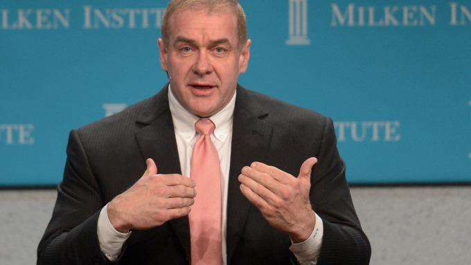 古根漢首席投資長Scott Minerd認為Fed應該要加息而非降息(圖片:AFP)