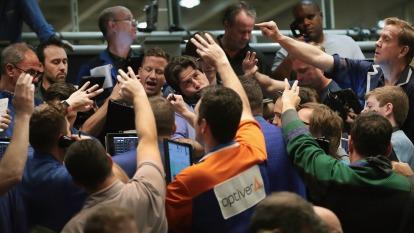 美企卯起來買進庫藏股 而且因預期降息 舉債者越來越多(圖:AFP)