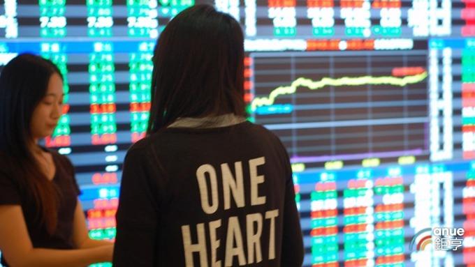 台股盤中─進入財報周 市場獲利先出場避險者眾引導跌勢。(鉅亨網記者張欽發攝)