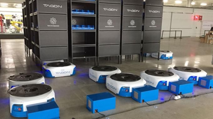 勞動短缺商機 中、印搶進日本倉庫機器人市場