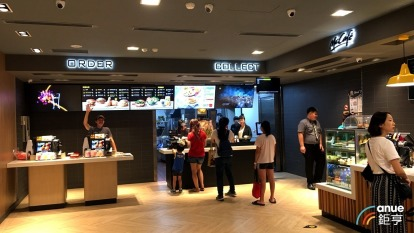 台灣麥當勞2.0店型。(鉅亨網記者王莞甯攝)