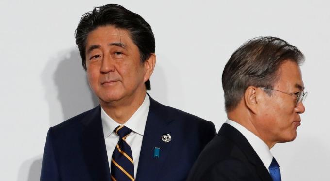 美國老大哥說話了!盼日韓簽署停止協定、暫時休兵。(圖片:AFP)