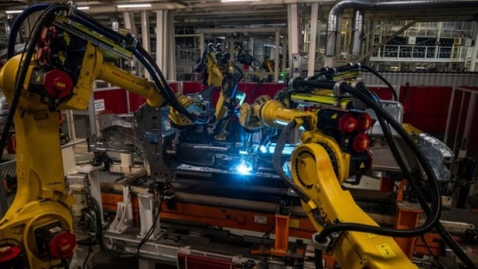 工廠機器人 (圖片: AFP)