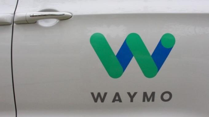 Goggle Waymo 自動駕駛車 (圖片: AFP)