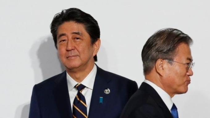 日韓貿易戰爭 伴隨而來的雙輸局面 圖片:AFP