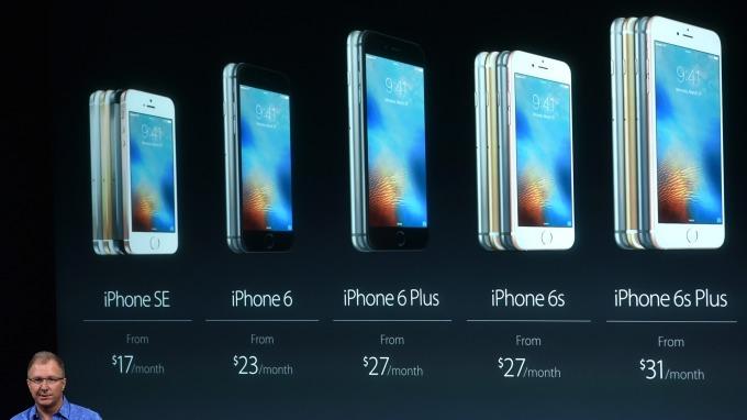 七年來蘋果首見iPhone營收下滑(圖片:AFP)