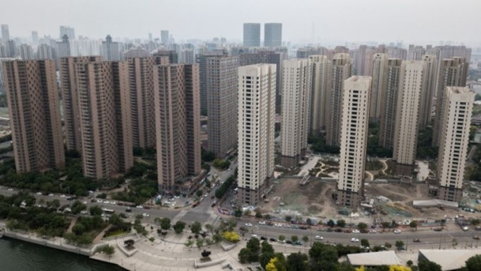 緊縮房市金流成下半年中國政府顯學(圖片:AFP)